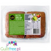 Guiltless Gourmets keto bread, 4 x 85g low carb ciabatta