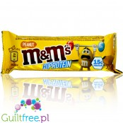 M&M's Protein Bar Peanut protein bar with mini M&Ms