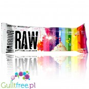 Warrior Raw Protein Flapjack Rainbow Cupcake