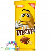 M&M's Chocolate Bar Peanut 165g (CHEAT MEAL) czekolada z mini M&M-sami i orzechami ziemnymi