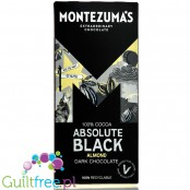 Montezuma's Absolute Black 100% Cocoa Solids with Almonds