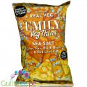 Emily Veg Thins Sea Salt - solone tortilla-chipsy z warzyw