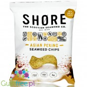 Shore Seaweed Chips Asian Peking - chipsy z alg o smaku orientalnym