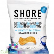Shore Seaweed Chips Salted - solone chipsy z alg morskich