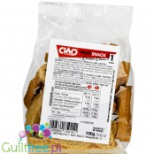 Ciao Carb Crostino Cheese , low carb, highg fiber & high protein bread sticks