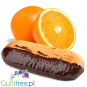 ProtoMax Orange & Protochoc - low carb fiber cookie covered in protein chocolate