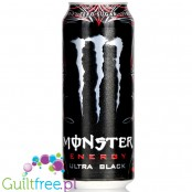 Monster Energy ® Ultra Black energy drink black cherry flavor