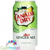 Canada Dry Diet Ginger Ale 12oz (355ml)
