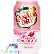 Canada Dry Diet Cranberry Ginger Ale 12fl.oz (355ml)