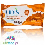 Lily's Sweets Chocolate Salted Caramel Flavor Baking Chips, No Sugar Added