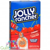 Jolly Rancher Singles to Go 6 pack - Cherry, sugar free instant sachets