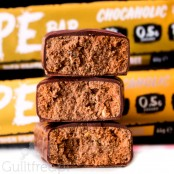 HYPE Bar Chocaholic, Vegan - low sugar chocolate protein bar with a creamy filling