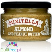 Mixitella Almonds & Peanut 60/40 double-nut butter with no additives