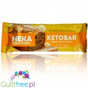 Heka Good Foods Keto Bar, Banana Walnut Bread