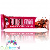 Fulfil Protein Chocolate Brownie protein bar with vitamins