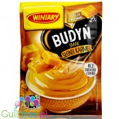 Winiary sugar free salted caramel pudding without sweeteners