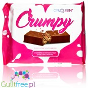 GymQueen Crumpy no added sugar waffer filled with cream and enrobed with chocolate, 3pcs