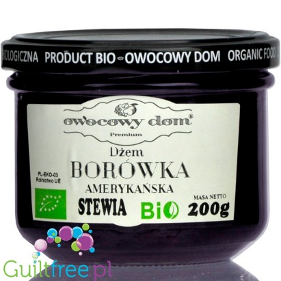 House of Fruits, Blueberry, no added sugar fruit spread with stevia
