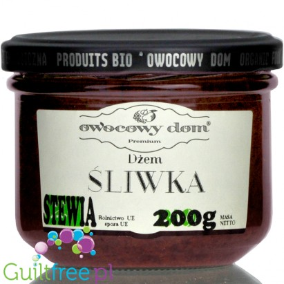 House of Fruits, Plum, no added sugar fruit spread with stevia