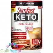 Slim Fast Keto Meal Shake Mix, Creamy Coffee Cappuccino