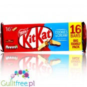 KitKat Cookies & Cream (CHEAT MEAL) Fmily Pack 16pcs