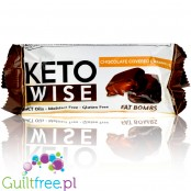 Healthsmart Keto Wise Fat Bombs Chocolate Covered Caramel