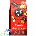 Newtrition Fell Fit Protein Choco & Peanut protein enriched sugar free candies Reeses Dark copycat