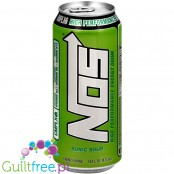 Monster NOS Sonic Sour High Performance Energy Drink 16oz (473ml) (CHEAT MEAL)