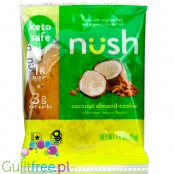 Nush Foods Keto Cookies, Coconut Almond