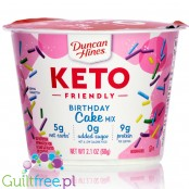 Duncan Hines Keto Friendly Birthday Cake Mix