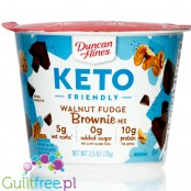 Duncan Hines Keto Friendly Walnut Fudge Brownie Mix