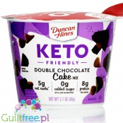Duncan Hines Keto Friendly Double Chocolate Cake Mix