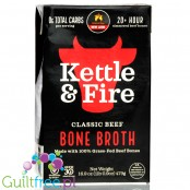 Kettle and Fire Bone Broth, Classic Beef 16.9 oz