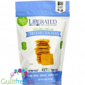 Liberated Specialty Foods Low Carb, Grain Free Crackers, Cheddar 4.5 oz