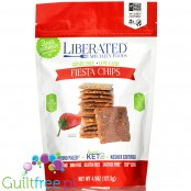 Liberated Specialty Foods Low Carb, Grain Free Crackers, Fiesta 4.5 oz