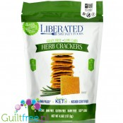 Liberated Specialty Foods Low Carb, Grain Free Crackers, Herb 4.5 oz