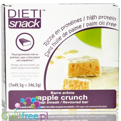 Apple Crunch Flavored Bar