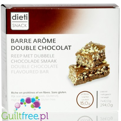 Barre Arôme Double Chocolat Decadence - Double Chocolate Flavored Bar - Chocolate flavored bonbon, contains sugar and sweeteners