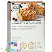 Dieti Snack Wafer Mocha high protein waffer with mocha cream