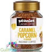 Beanies Caramel Popcorn instant flavored coffee 2kcal pe cup