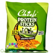 Chiefs Protein Sticks Onion & Cream