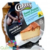 Cakees Sweet Protein Cheesecake, Lemon 0,45KG - ready to eat homemade style cake