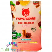 Powerbeärs High Protein Snack Strawberry & Orange sugar free