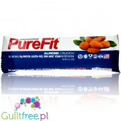 Pure Fit Almond Crunch Bar vegan gluten free protein bar with no sweeteners