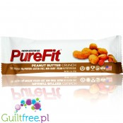 Pure Fit Peanut Butter Crunch Bar vegan gluten free protein bar with no sweeteners