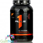 Rule1 R1 Protein Salted Caramel protein powder, single sachet