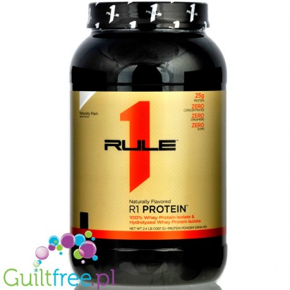 Rule1 R1 Protein (2,5lbs) Naturally Plain