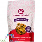 Keto Candy Girl Keto Cookie Mix, Chocolate Chip 8 oz baking mix