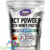 NOW Foods MCT Powder with Whey Protein, Salted Caramel1 lb