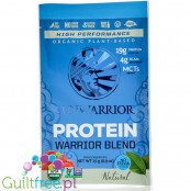 Sunwarrior Protein Warrior Blend, Natural - vegan protein powder with acai, goji & quinoa, sachet